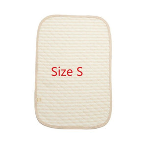 Baby Cotton Urine Mat Diaper Nappy Bedding Changing Cover Pad Waterproof Mattress Protector Baby Nappy Pad For Sleeping