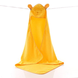Baby Towel Newborn Bath Comfortable Soft Baby Hooded Bathrobe Cute Animal Beach Cotton Towel kids Babies Blanket