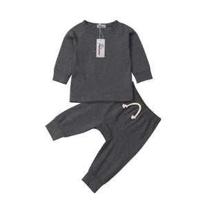 Baby Boy Girl soft cotton Pajamas Clothes Set Sleepwear Nightwear Outfit for Newborn Infant Children Cloth Kid Clothing
