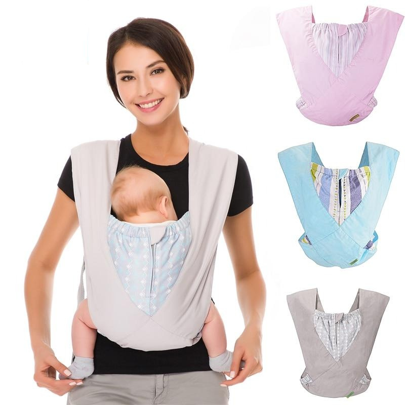 Baby Carrier Natural Cotton Ergonomic Baby Carrier Backpack Carrier Kangaroo Baby Sling Easy Wearing  Newborn Infant