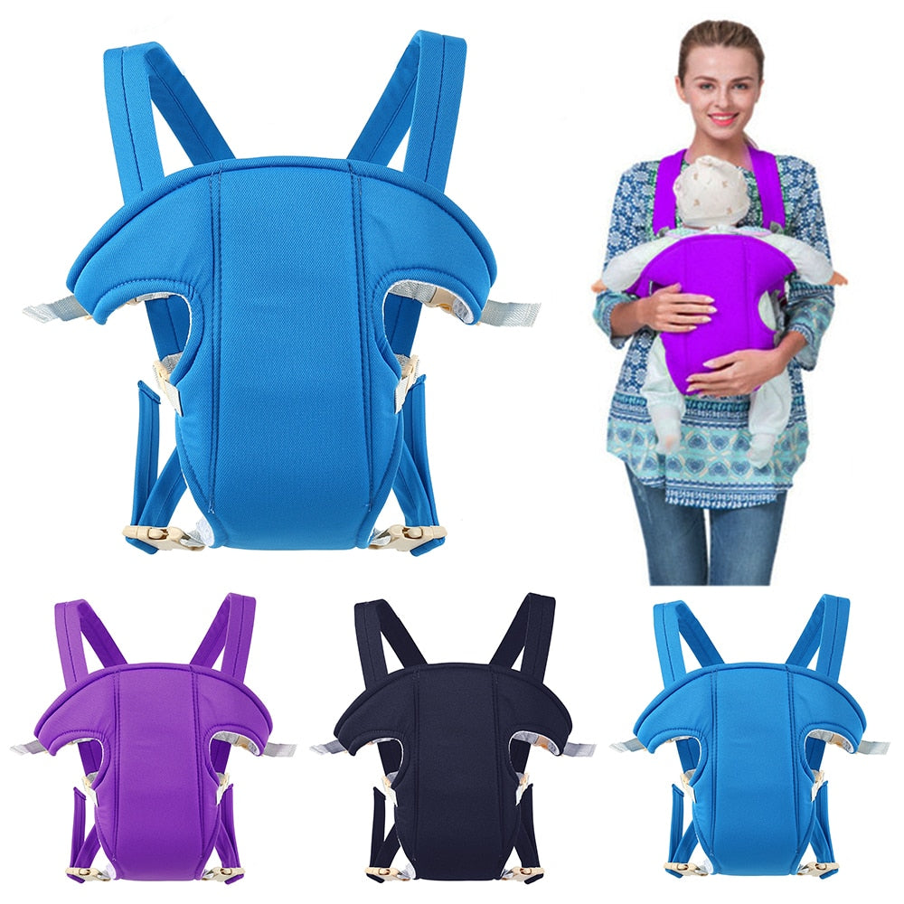3-30 Months Baby Carrier Breathable Front Facing Baby Carrier Sling Backpack Pouch Wrap Baby Kangaroo Adjustable Safety Carrier