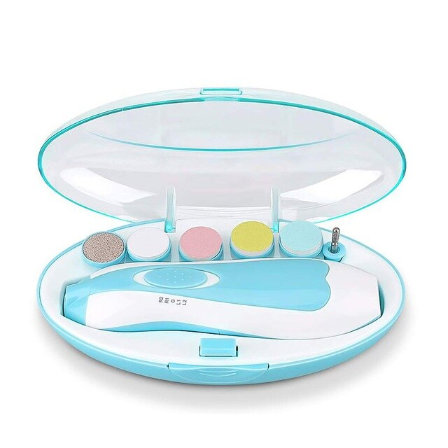 6-In-1 Multi-function Baby Electric Nail Polisher Baby Manicure Grinding Machine Nail Care Manicure Tools