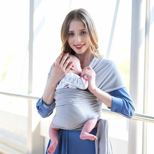 Breathable Baby Sling Carrier Wrap Scarf Nylon Backpack Ergonomic Bebe Canguro para Infant for Summer Accessories
