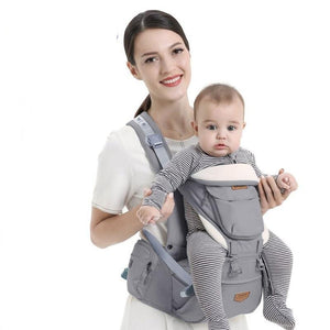 Ergonomic Baby Carrier Infant Hip seat Carrier Kangaroo Sling  Front Facing Backpacks for Baby Travel Activity Gear