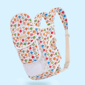 Baby Backpack Carrier Front Carry Kangaroo Child Backpack Carrier Toddler Travel Baby Sling Wrap Carrier Hipseat for Newborn