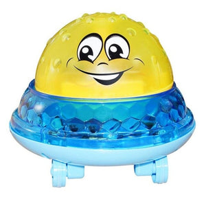 New Infant Bath Toys Baby Electric Induction Sprinkler Ball with Light Music Children Water Spray Play Ball Bathing Toys Kids