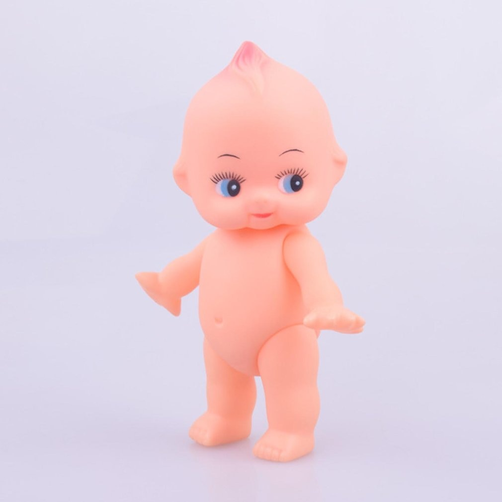 Hot 1pc Soft Silicone Rubber Squeezing Sound Baby Bath Beach Vocal Toy Kids Playing Water Games Boys Girls Doll Toys Kawaii Gift