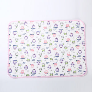 Soft Cotton Baby Bedding Cloth Diaper Mat Newborn Infant Foldable Nappy Diaper Mat Changing Pads Covers Breathable Cloth