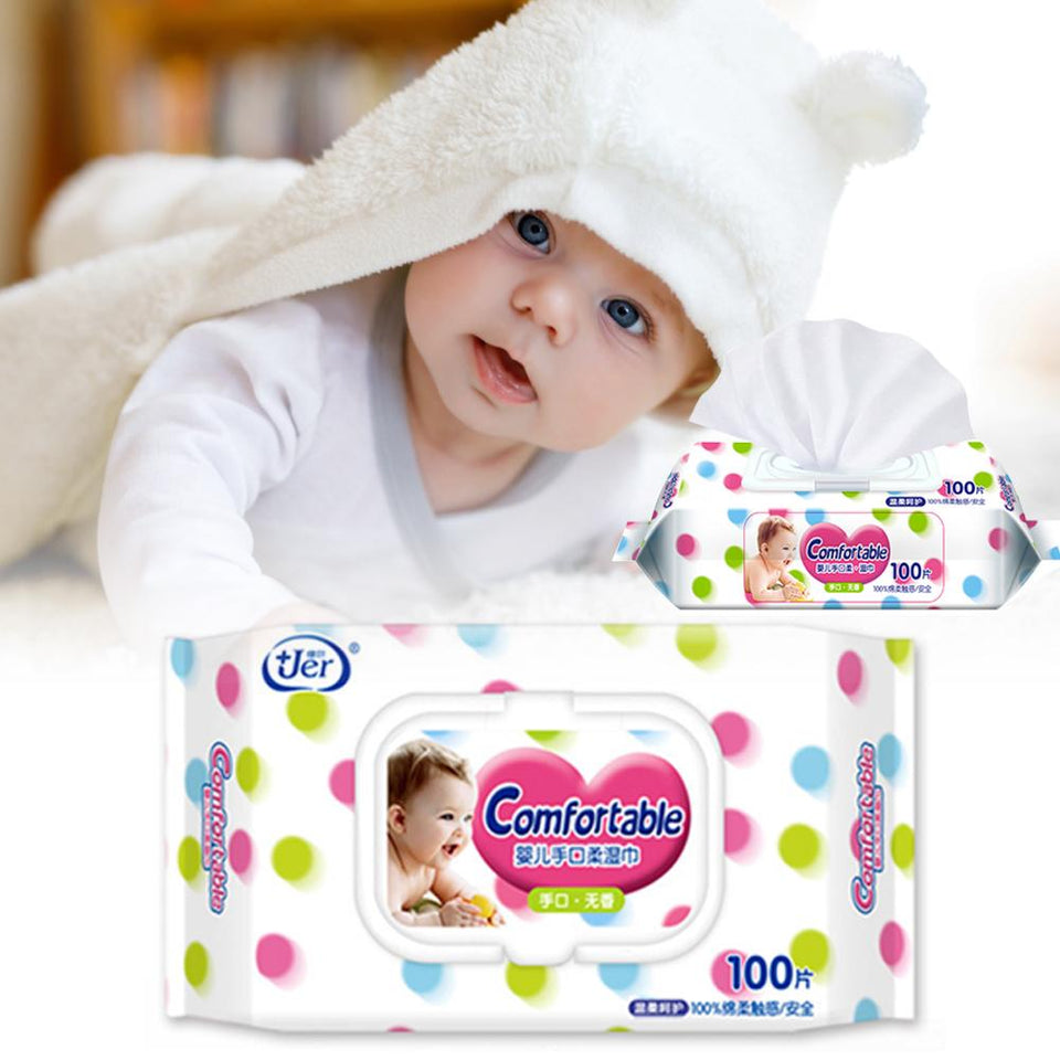Fast Delivery Baby Wipes Plant Extract Infant Wipes For Toddlers Body Cleaning Daily Care