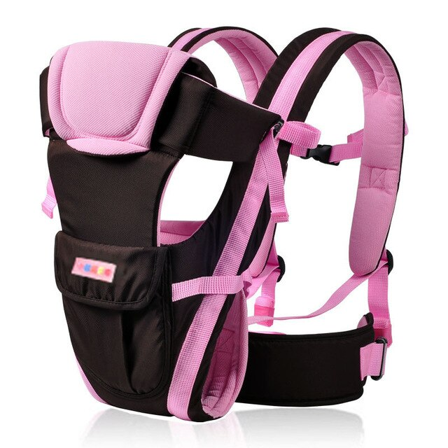 0-30 Months Breathable Front Facing Baby Carrier 4 in 1 Infant Comfortable Sling Backpack Pouch Wrap Baby Kangaroo B0653