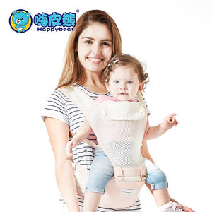 Baby Carrier Breathable Infant Kid Baby Hipseat Sling Kangaroo Baby Wrap Carrier for Baby Travel  Thickening Shoulders