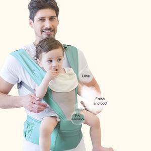 Summer 3D Breathable Baby Carrier Belt Shoulder Strap Infant Waist Stool Multifunctional Baby Belt Baby Holding Seat Waist Stool