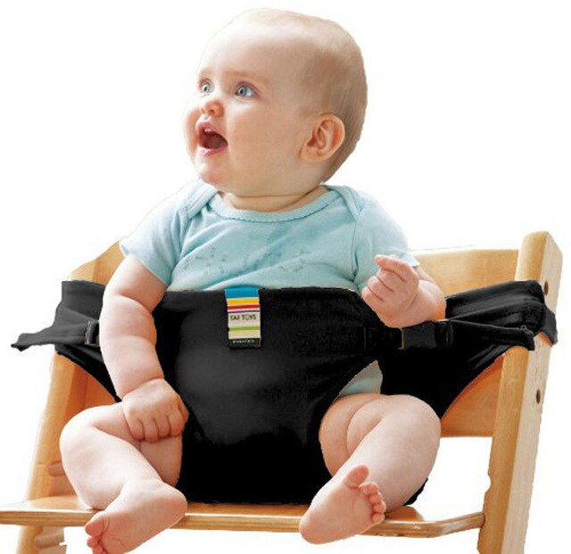 Baby Chair Seat Safety Belt Portable Infant Seat Harness Baby Carrier Chair Cover Wrap Baby Feeding Product Accessories L0024