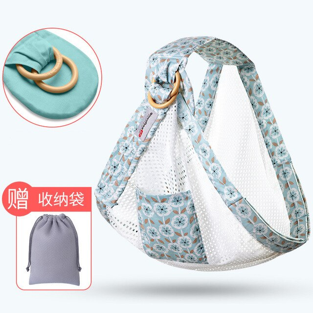 Ergonomic Baby Carrier Newborn Soft Wrapped Baby Breathable Wrapped Hip Cushion Breastfeeding Nursing Kit 0-36 Months