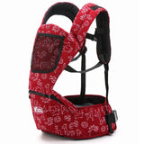 Red Newborn Baby Front Carrier Kids Ergonomic Infant Strap Babys Sling Outdoor Portage for Babise of 0-36 Mouth 1 2 3 Years Old