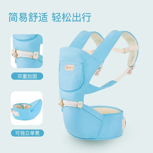 Multi-function Ergonomic Baby Carrier Infant Kid Baby Hipseat Sling Front Facing Baby Wrap Carrier for Baby Travel 0-36 Months