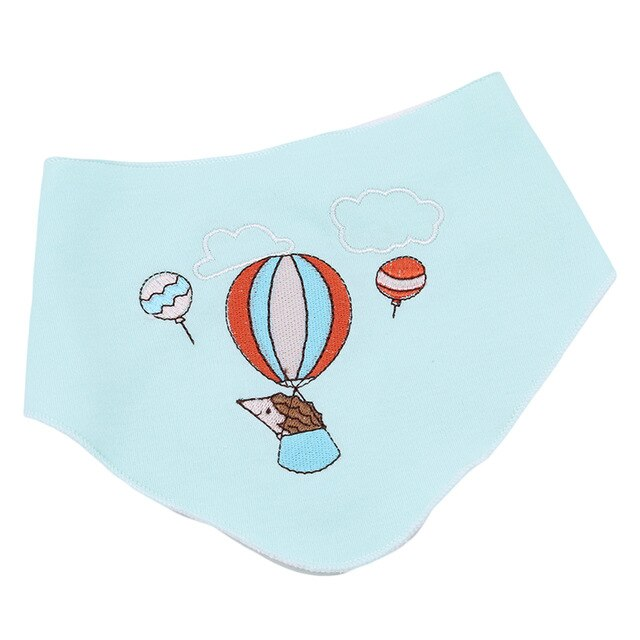 3pcs/set Baby Bibs Infant Saliva Towel Boys And Girls Feeding Slabbetjes 100% Cotton High Quality Baberos