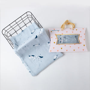 2020 New Baby Towel Cotton Gauze Newborn Infant Cartoon Face Towel Hand Bathing Bibs Handkerchief Children Baby Towel 120*120cm