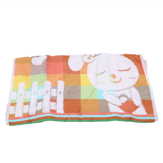 Single Small Soft Cute Baby Towel Handkerchief Infant Kids Children Feeding Bathing Towel Face Washing Towel