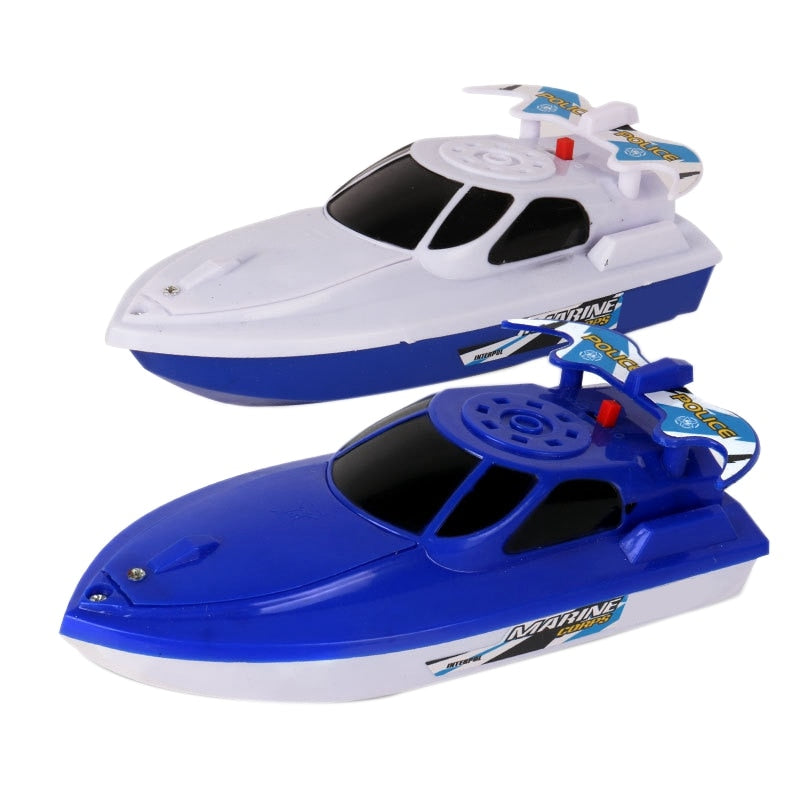 2PCS Electric Motor Toy Boat Baby Bathing Boat Playing Speed Boat Model Boat