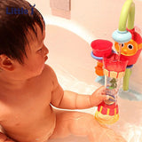 Baby Bath Toys Children Play In The Water Scoop Water Swimming Beach Rotating Cylinder Flow Observation Cup Children's Bath Toys