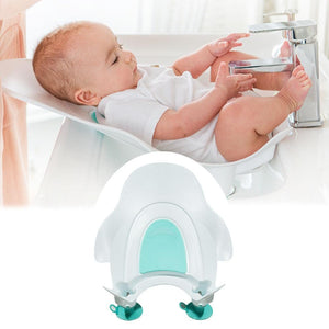 Portable Infant Baby Ass Washing Basin Newborn Compact Baby Bathtub for Newborn Baby Shower Bath Mat PP Bathtub Baby Care