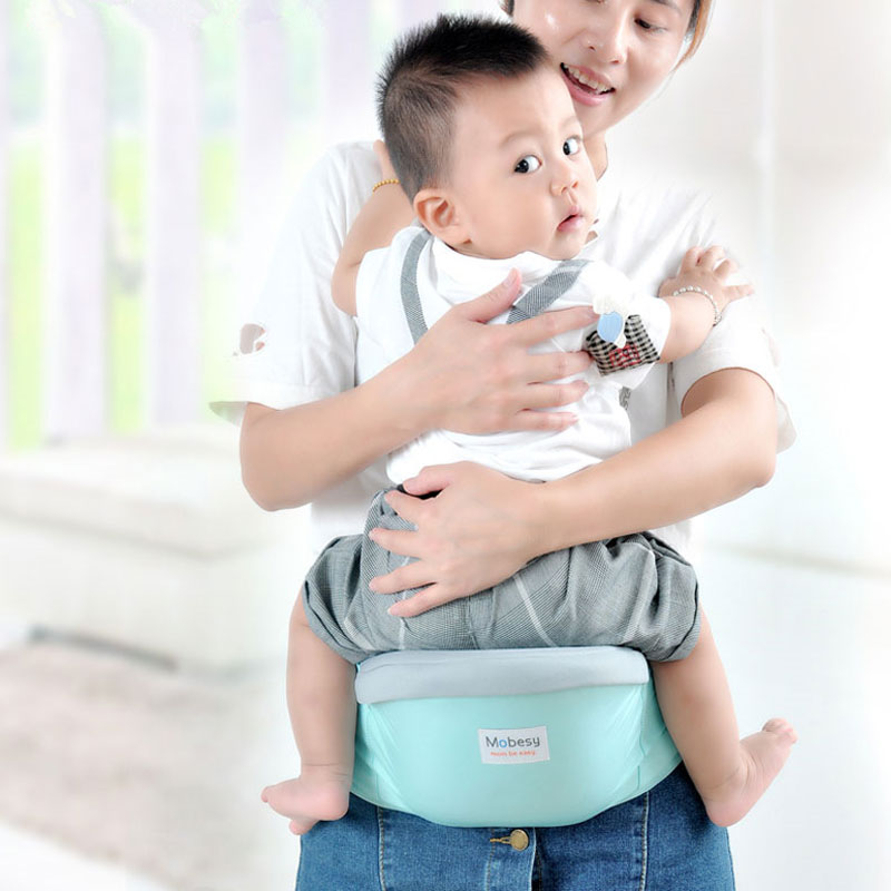 Simple Baby Carrier Baby Waist Stool Walker Hipseat Sling Adjustable Toddler Front Holder Wrap Belt Holder Hip Seat Belt 0-24 M
