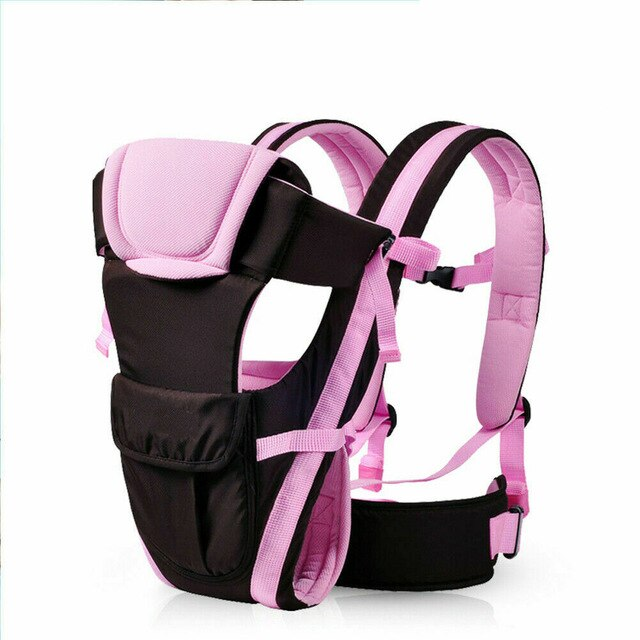 PUDCOCO Hot Adjustable Breathable Baby Carrier Ergonomic Wrap Sling Fashion Newborn Infant baby Backpack Buckle Cotton Wrap