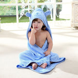 Baby Bath Towel Kids Cartoon Newborn Boy Girl Beach Towel Kids Hooded Towel Cotton Squares Soft Cloak Washcloth