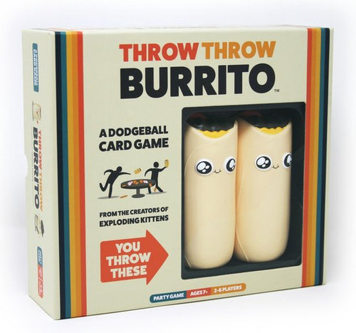 Throw Throw Burrito Gamekeeper Spel