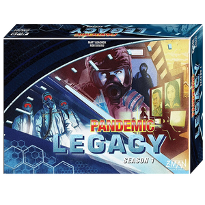 Pandemic Legacy Blue (EN) The Gamekeeper Spel