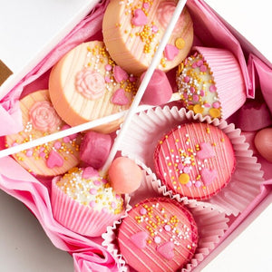 Pink Box of Sweets Life of Pie Cake