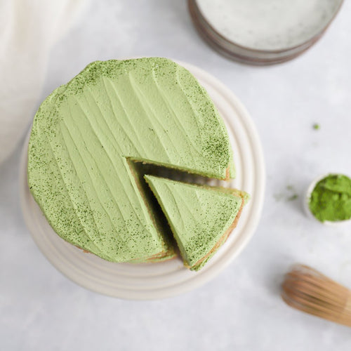 Matcha-Coconut Layer Cake Petit by Sam