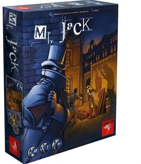 Mr. Jack Gamekeeper Spel
