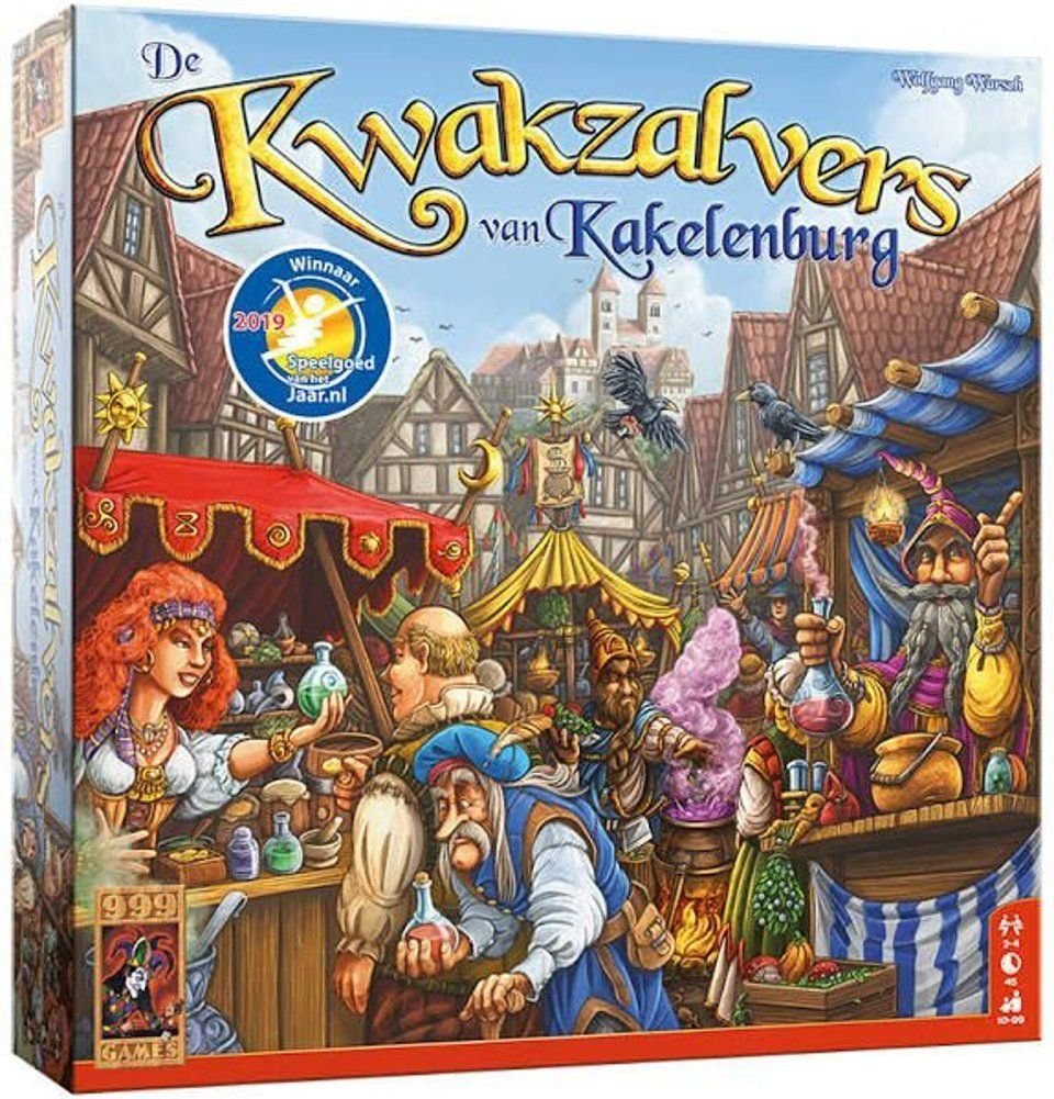 De Kwakzalvers Van Kakelenburg The Gamekeeper Spel