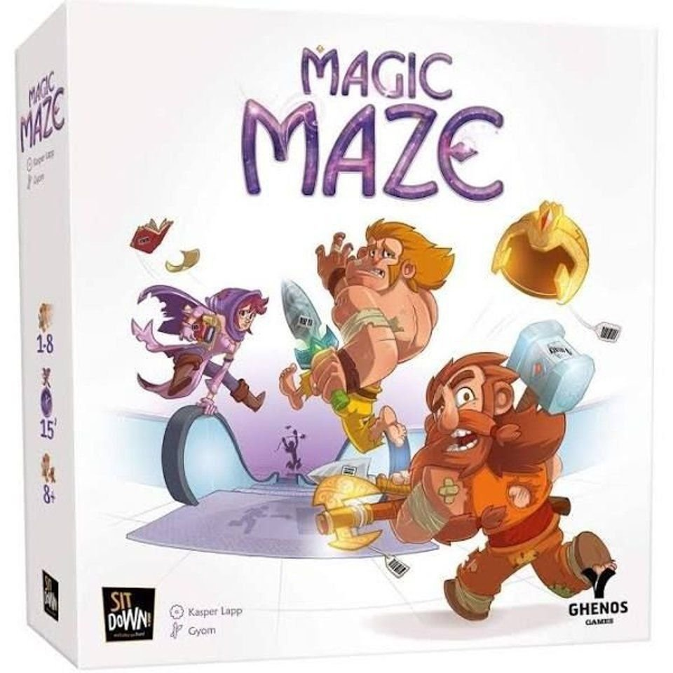 Magic Maze The Gamekeeper Spel