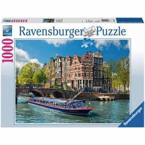 Puzzle 1000st. Rondvaart In Amsterdam The Gamekeeper Spel