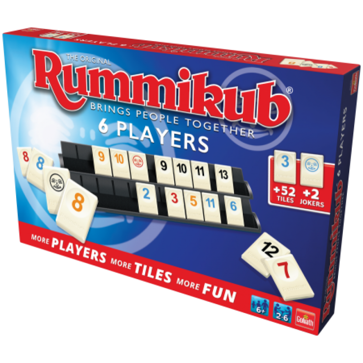 Rummikub XP6 The Gamekeeper Spel