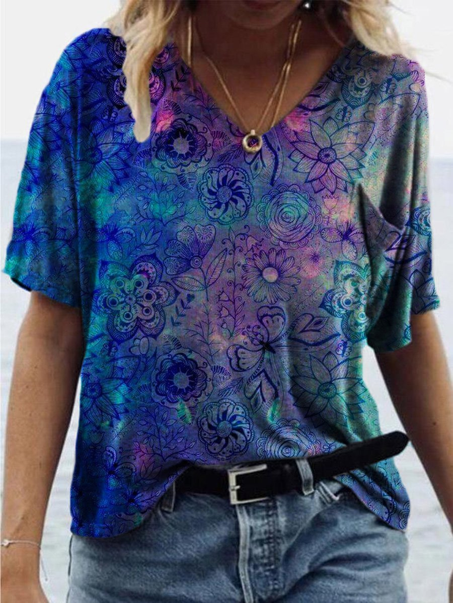 Flower Painting T-shirt