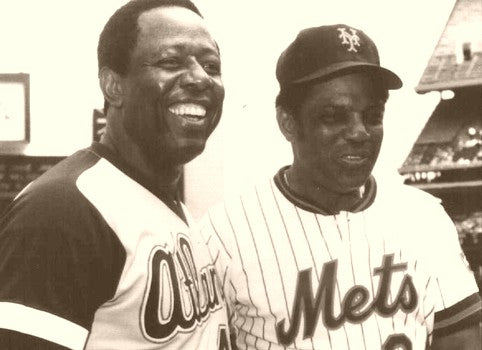 Hank Aaron & Willie Mays Hall Of Fame, Bound 1973
