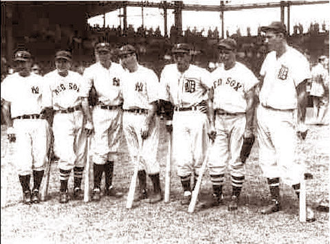 American League All Stars Midsummer Classic 1937