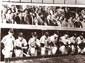 Chicago White Sox Starting Line Up World Series 1959