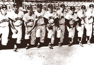 Cleveland Indians Hitting Staff 1954