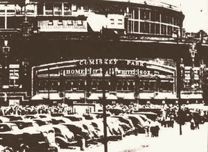 Comiskey Park All-Star Game 1933