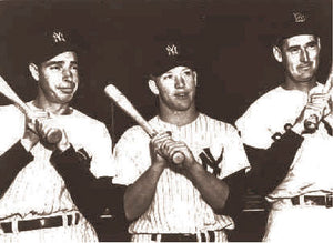 DiMaggio, Mantle & Williams Superstars 1956