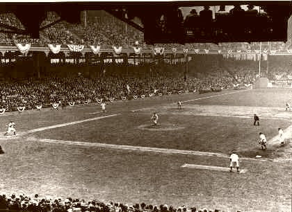 Ebbets Field Brooklyn Opening Day 1935