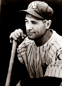 "Lou Gehrig ""The Pride of the Yankees"""