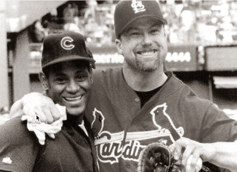 Mark McGwire and Sammy Sosa