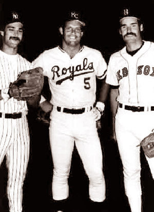 Don Mattingly,George Hart&Wade Boggs Future Hull Of Famers 1991