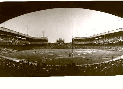 Polo Grounds (Panoramic) (N.Y. Giants) 1955